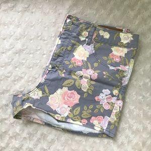 H&M 10 Shorts Conscious Collection Floral Print